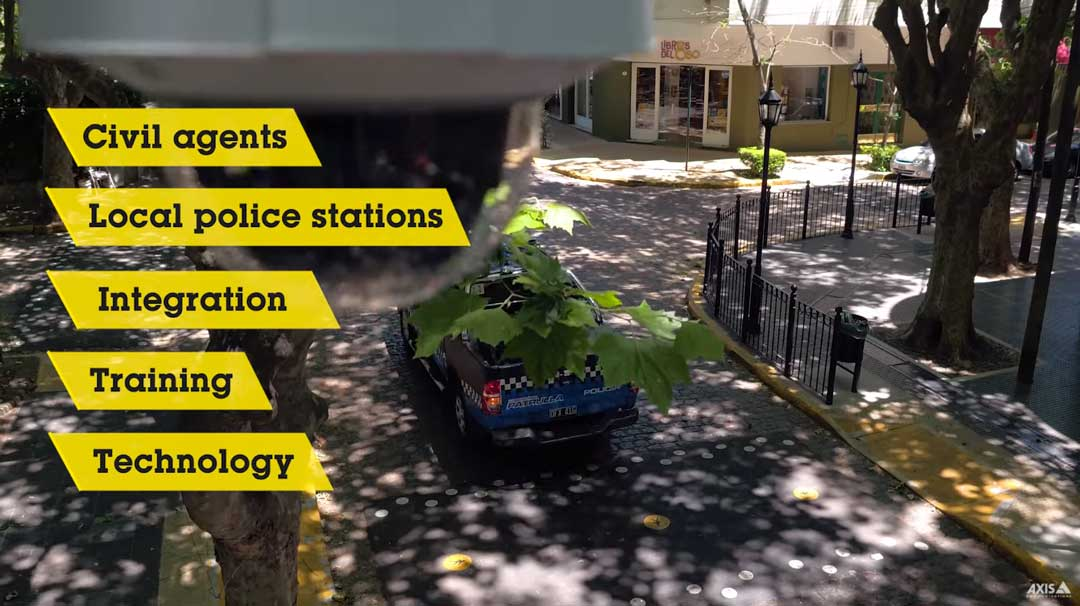 law enforcement automation and remote monitoring of smart cities